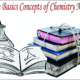Some Basics Concepts of Chemistry