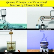 General Principles and Processes of Isolation of elements
